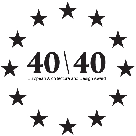 40 under 40: European Architecture and Design Award logo