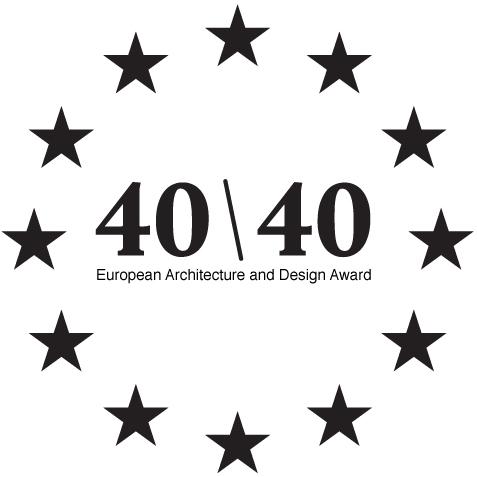 40 under 40: European Architecture and Design Award logo